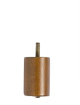Furniture Leg 2 1/2 Inch Wood Cylinder Each Pc. Price: $3.50